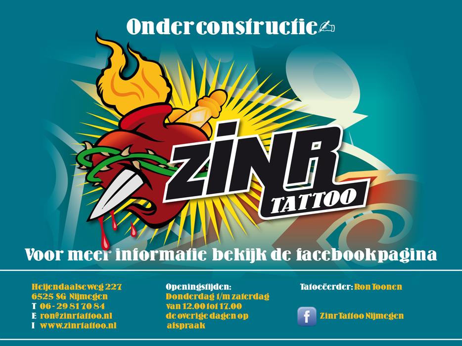 ZINR TATTOO | Nijmegen